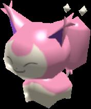 Fiche Pokédex de Skitty Pokémon Rumble Rush