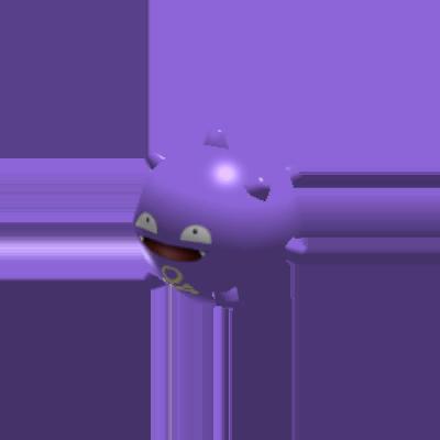 Fiche Pokédex de Smogo Pokémon Rumble Rush