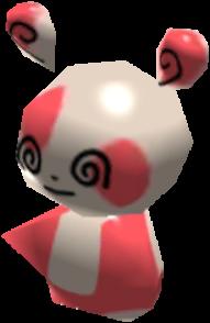 Fiche Pokédex de Spinda Pokémon Rumble Rush
