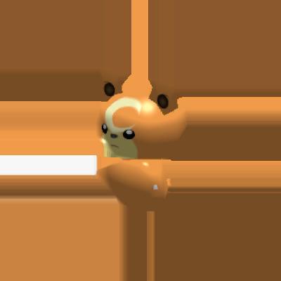 Fiche Pokédex de Teddiursa Pokémon Rumble Rush