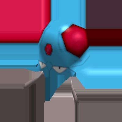 Sprite de Tentacool - Pokémon Rumble Rush