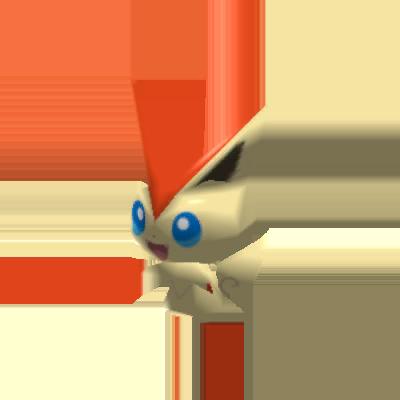 Fiche Pokédex de Victini Pokémon Rumble Rush