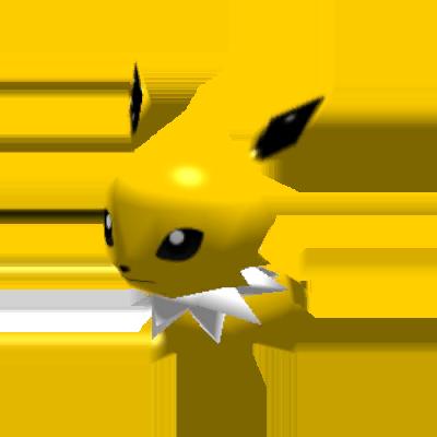 Sprite de Voltali - Pokémon Rumble Rush