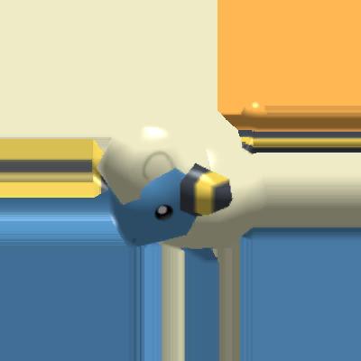 Sprite de Wattouat - Pokémon Rumble Rush