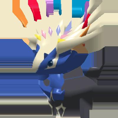 Fiche Pokédex de Xerneas Pokémon Rumble Rush