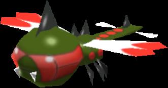 Sprite de Yanmega - Pokémon Rumble Rush