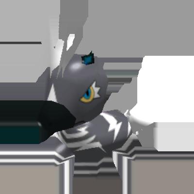 Fiche Pokédex de Zéblitz Pokémon Rumble Rush