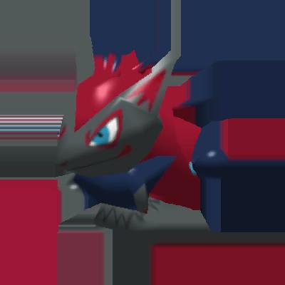 Sprite de Zoroark - Pokémon Rumble Rush
