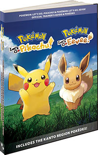 Guide Pokémon Let's Go Pikachu et Let's Go Évoli