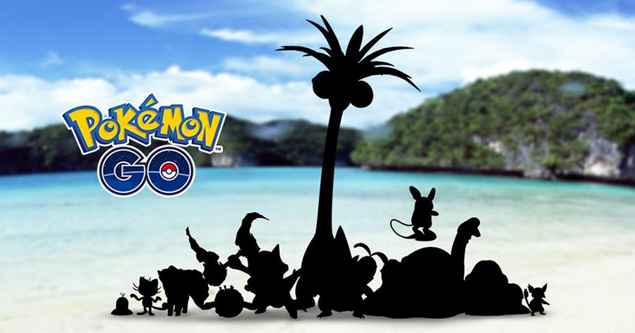 Les formes d'Alola arrivent bientôt sur Pokémon Go