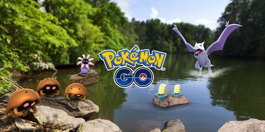 Semaine de l'Aventure sur Pokémon : les Pokémon roche à l'honneur