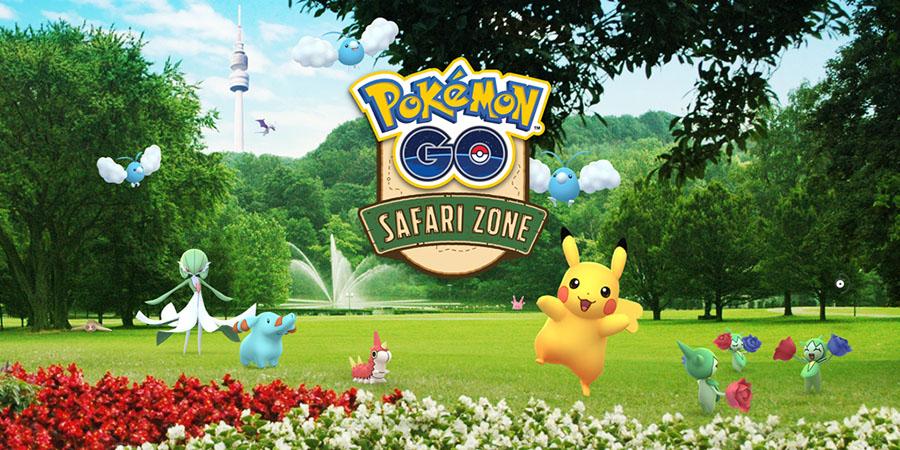 Détails sur le Pokémon Go Safari Zone à Dortmund