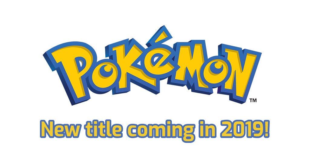 Un RPG Pokémon est prévu pour 2019