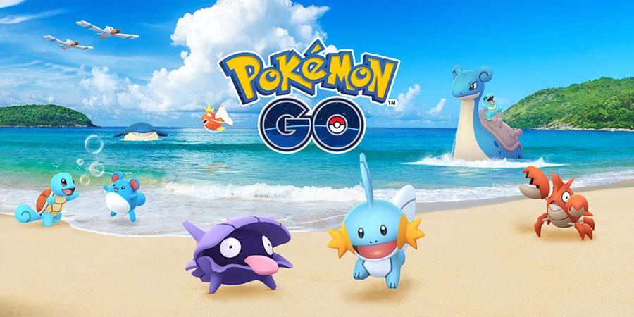 Le Festival Aquatique de retour sur Pokémon Go