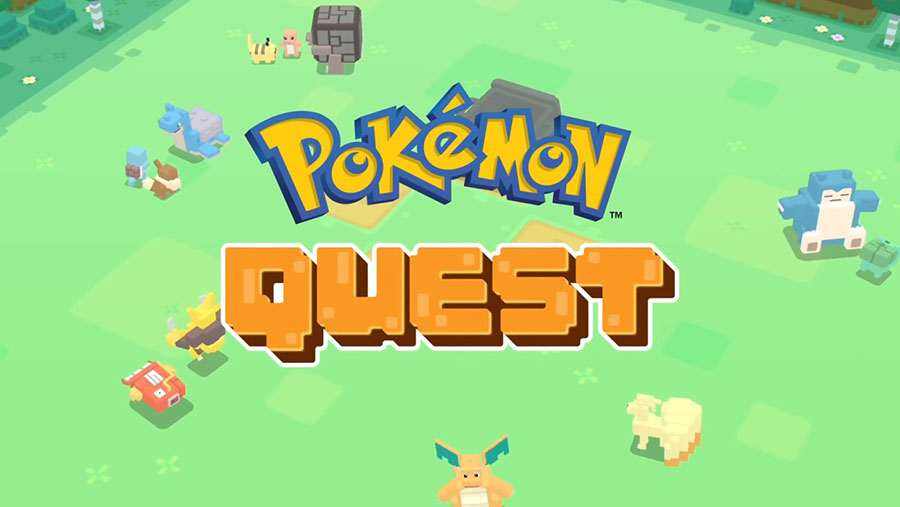 Pokémon Quest arrive sur mobile le 27 Juin