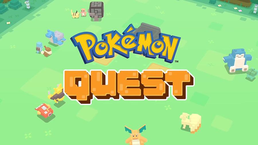 Pokémon Quest est disponible sur smartphone Android et iOS