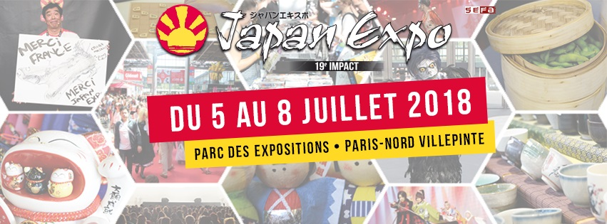 Concours : des places pour la Japan Expo 2018 à gagner