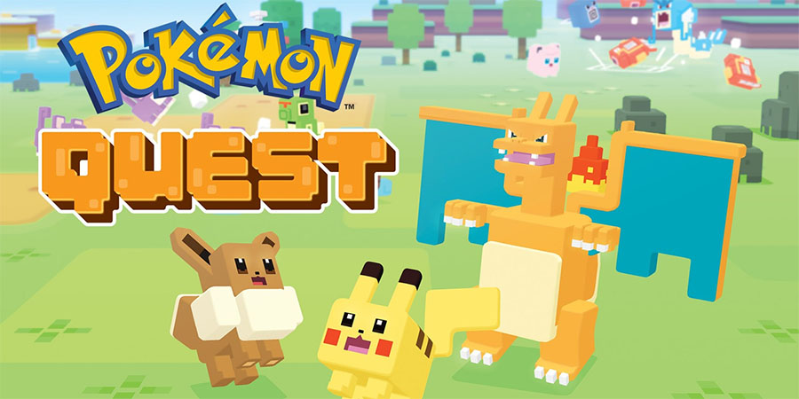 Mise à jour 1.1 de Pokémon Quest sur Nintendo Switch