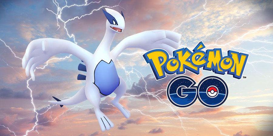Lugia de retour sur Pokémon Go + nouveaux Pokémon disponibles