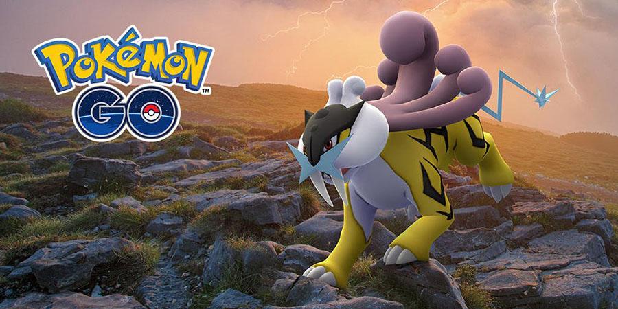 Raikou est disponible sur Pokémon Go + Malosse et Snubbull shiny + Spinda disponible