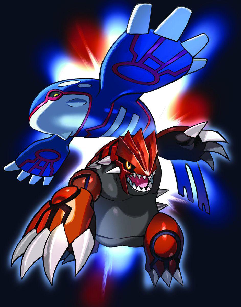 Kyogre et Groudon distribués au mois d'Août sur Pokémon Ultra-Soleil et Ultra-Lune