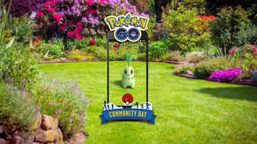 Germignon en vedette lors du Pokémon Go Community Day du mois de Septembre