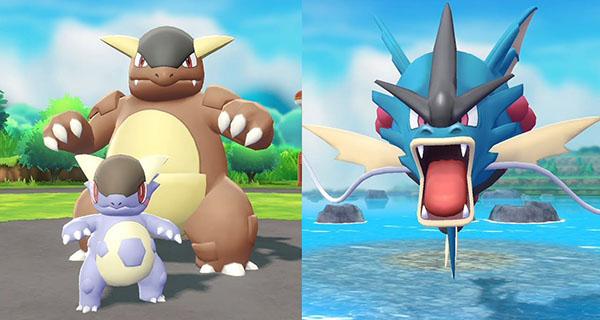 Place m ga kangourex et m ga l viator dans pok mon let 39 s - Pokemon mega kangourex ...