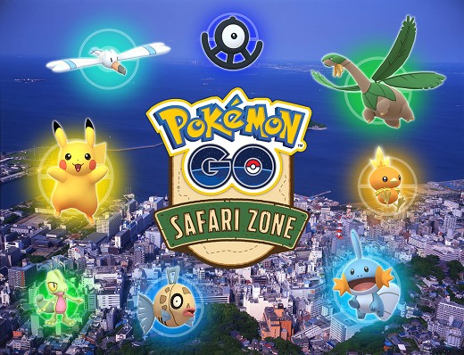 Pokémon GO Safari Zone de Yokosuka