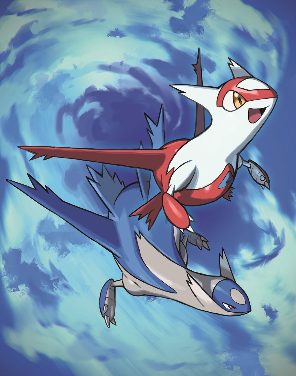 Latias et Latios distribués au mois de Septembre sur Pokémon Ultra-Soleil et Ultra-Lune