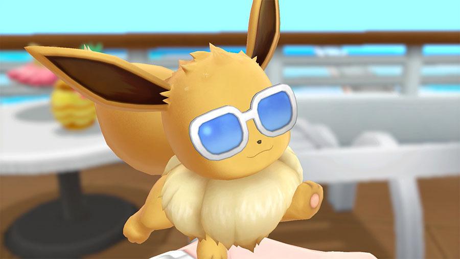 Personnalisation Évoli Pokémon Let's Go Pikachu et Évoli