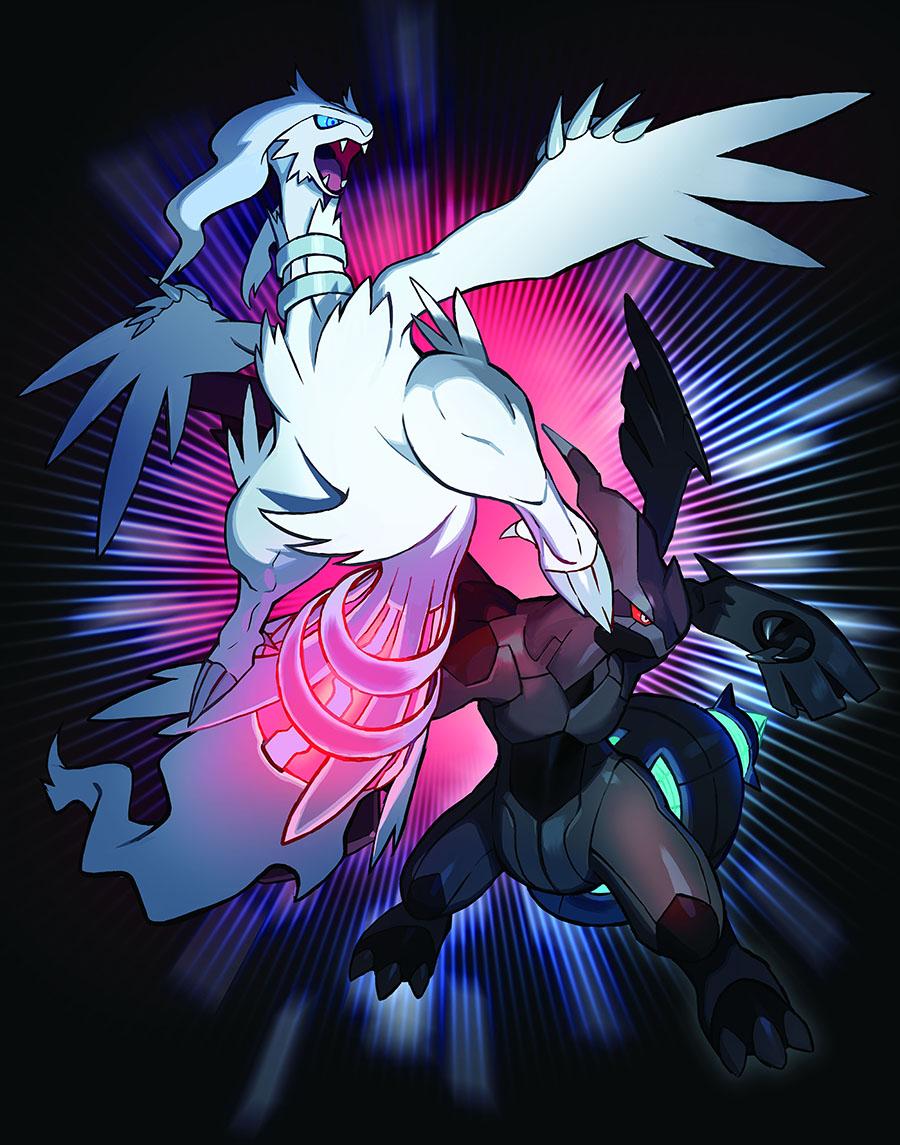Reshiram et Zekrom distribués au mois d'Octobre sur Pokémon Ultra-Soleil et Ultra-Lune
