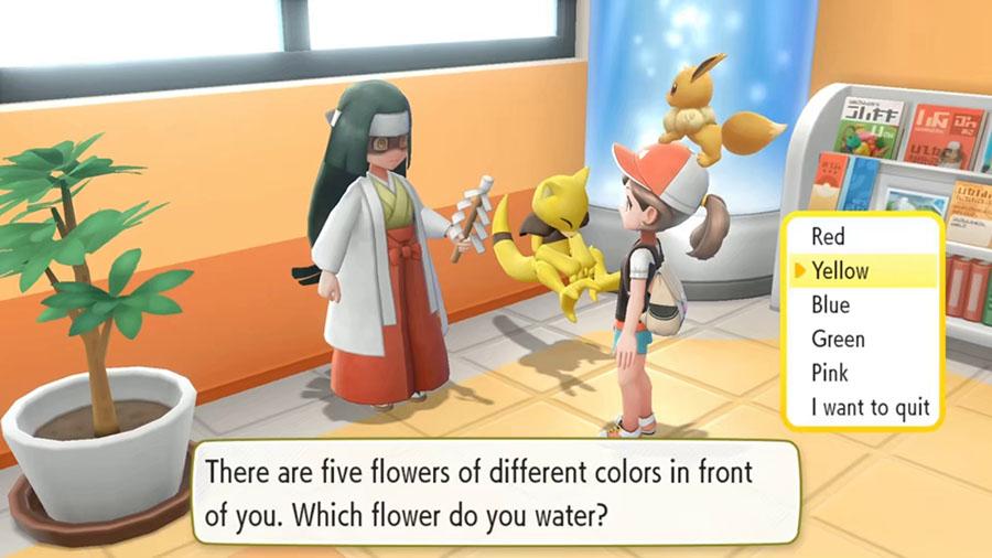 Pokemon Let's Go Pikachu et Évoli : résumé du Nintendo Treehouse Live