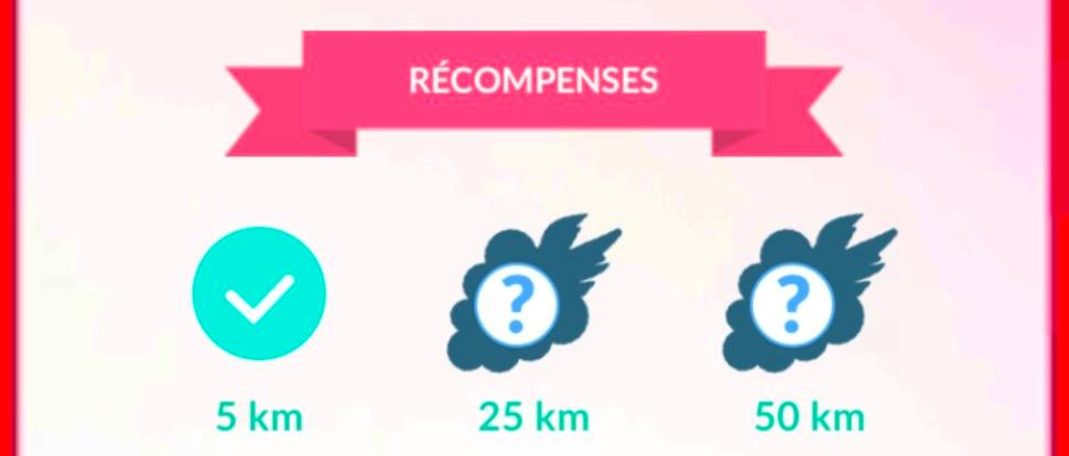 Pokémon GO - Récompenses du Suivi d'exploration