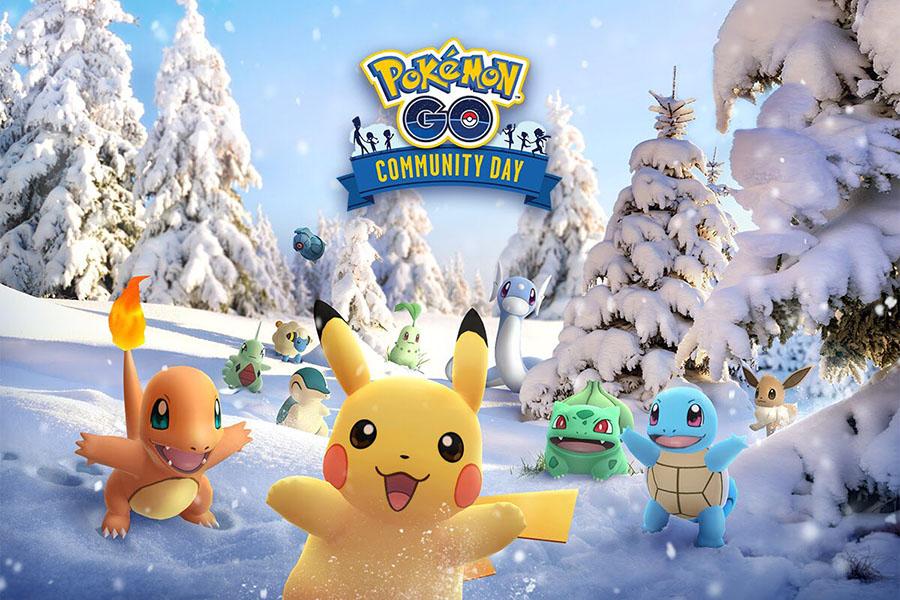 Pokémon GO - Community Day de Décembre