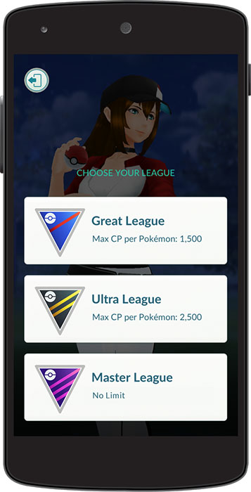 Ligue de Combat Pokémon GO