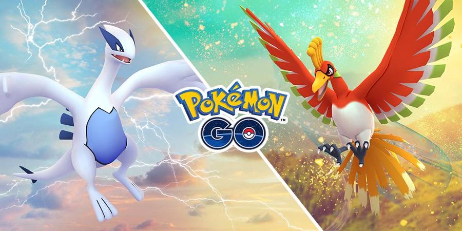 Pokémon GO - Ho-Oh et Lugia de retour !