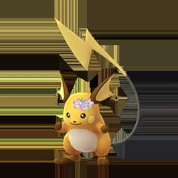 Pokémon GO - Raichu Hiver 2018