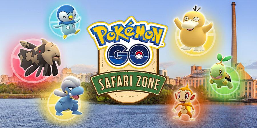 Pokémon GO : nouveau Safari Zone prévu à Porte Alegre au Brésil