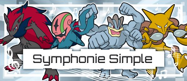 Pokémon Ultra-Soleil et Ultra-Lune : compétition en ligne Symphonie Simple