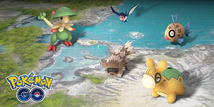 Pokémon GO - Événement Hoenn
