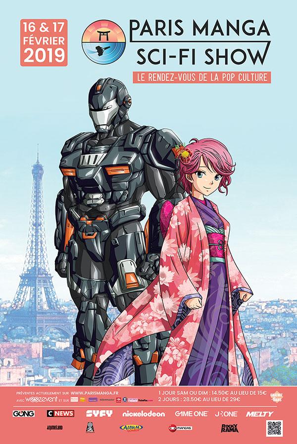 Concours : tenter de gagner 2 places pour la Paris Manga & Sci-Fi Show