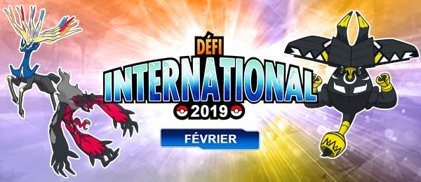 Pokémon Ultra-Soleil et Ultra-Lune : le Défi International de Février 2019 arrive
