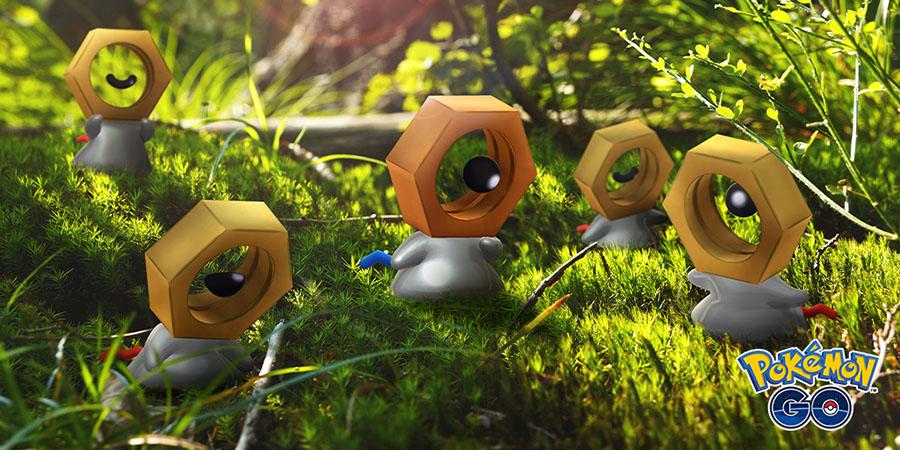 Pokémon GO : Meltan shiny disponible !