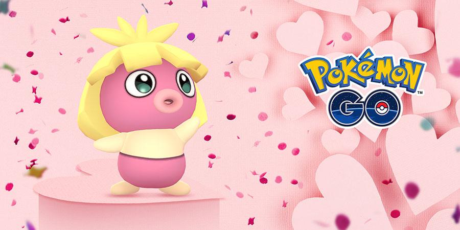Pokémon GO - Saint-Valentin 2019