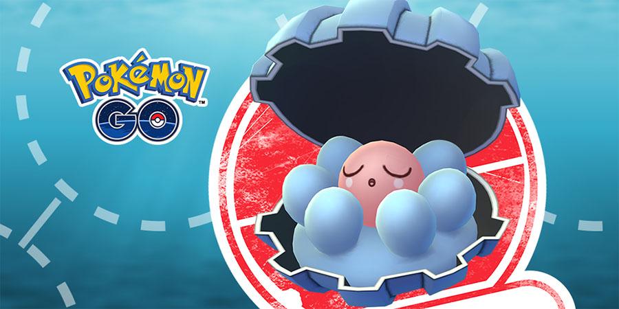 Pokémon GO : Coquiperl à la tête d'une Étude de Recherche limitée
