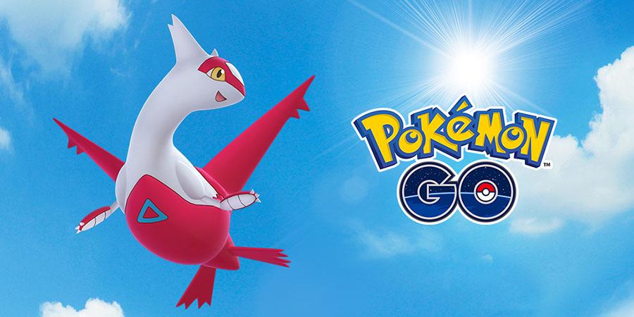 Pokémon GO : Raid spécial de Latias ce week-end