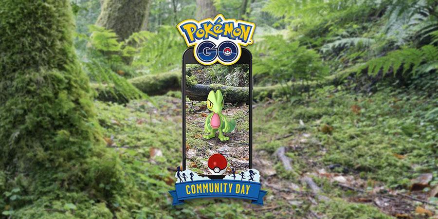Pokémon GO : Arcko en vedette du Community Day du mois de Mars