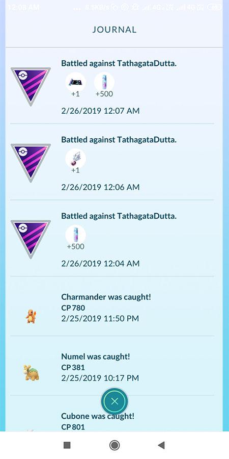 Pokémon GO : nouvelles attaques + nouvelles récompenses de Combats de dresseur