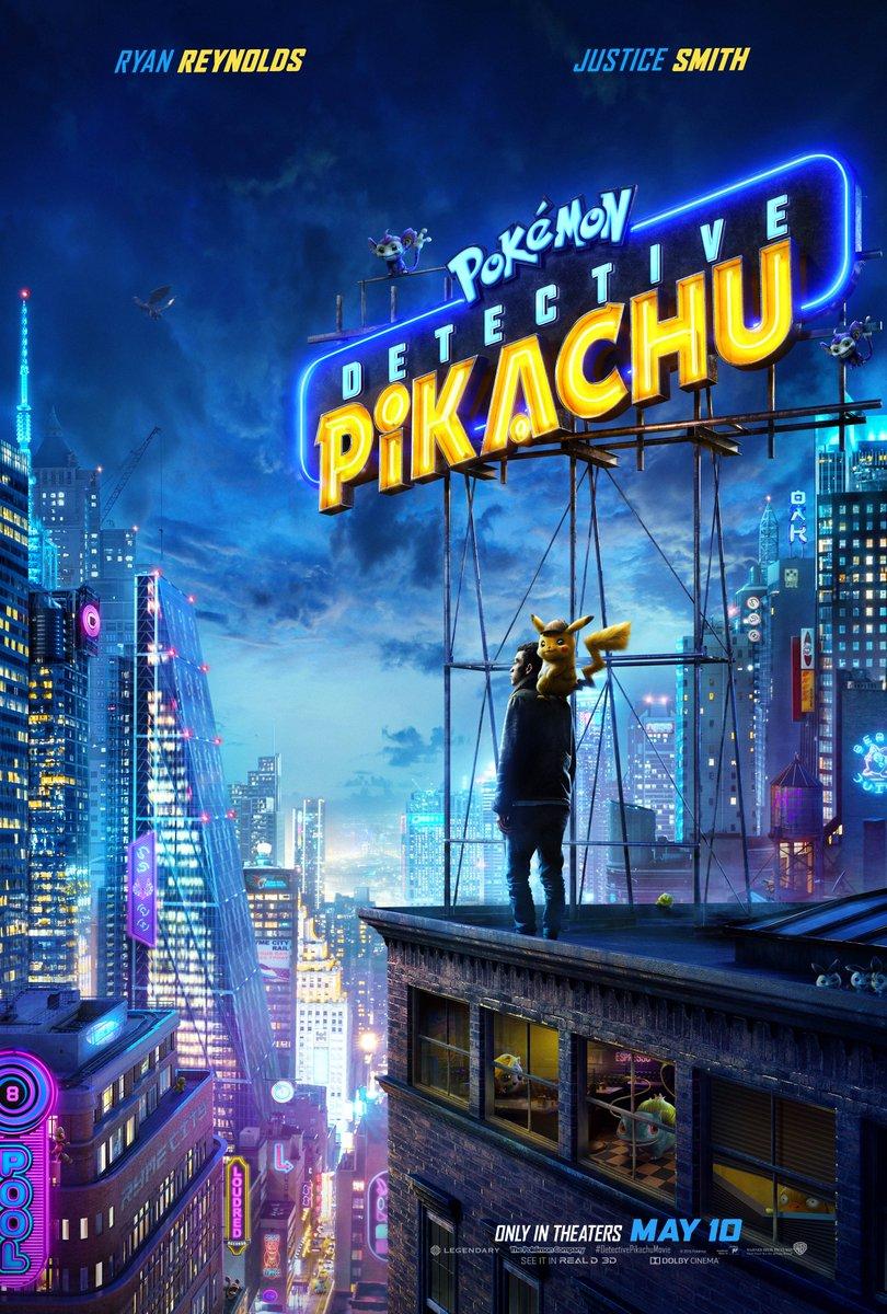 Nouveau trailer pour Détective Pikachu