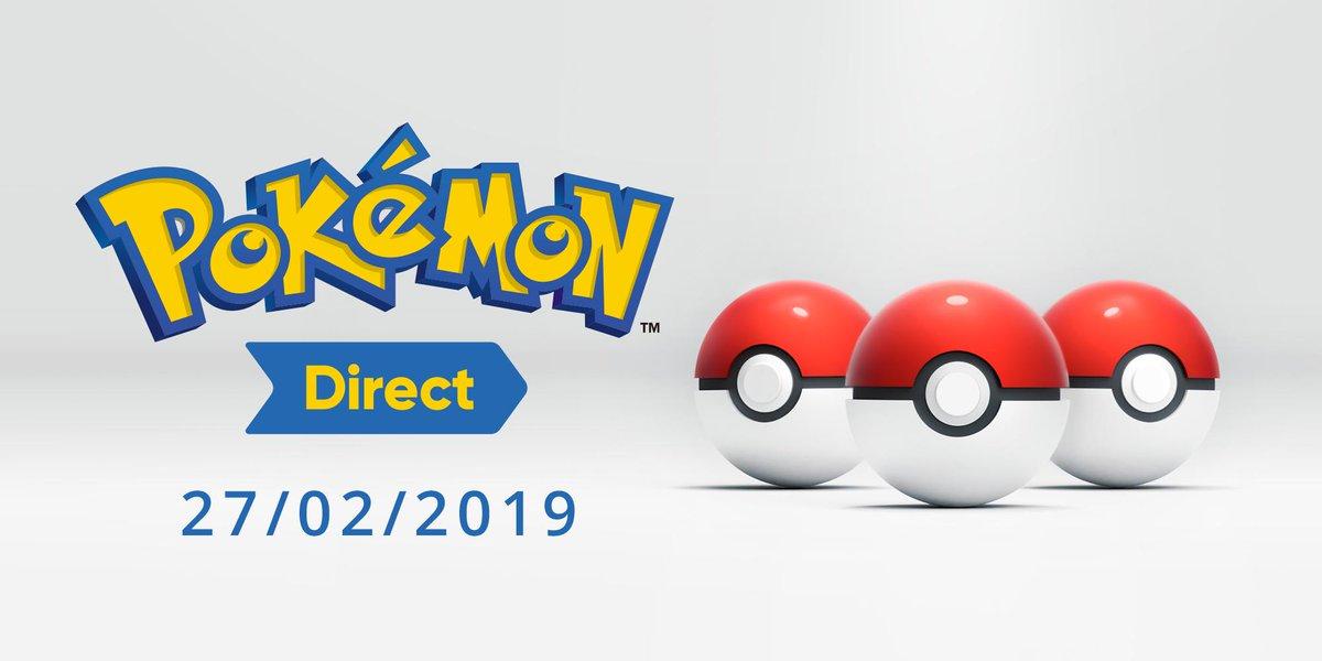 Un Pokémon Direct est prévu demain 27 Février !